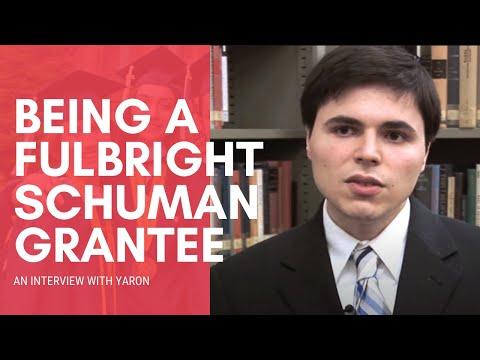 Fulbright-Schuman Grantee in the UK (London School of Economics): Yaron Schwartz