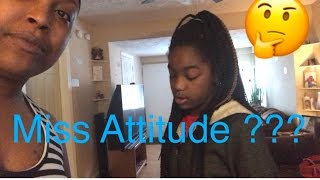 Miss Attitude?|BLACK FAMILY VLOGS#12