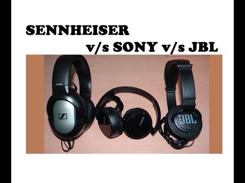 Top 3 premium Headphones under Rs 1000/-... Sennheiser/Sony/JBL