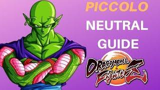 Piccolo Neutral Tips | DBFZ Tutorial
