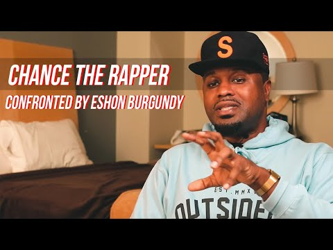 """chance-the-rapper-confronted-by-eshon-burgundy-for-""""music-for-god""""-lyric-(part-2)"""