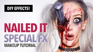 Nailed It Special FX Makeup And Prop Tutorial