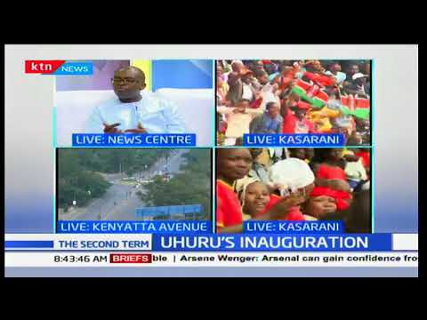Uhuru's inauguration: What is expected from the Jubilee government