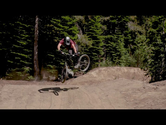 The Slabs Downhill Mountain Bike Course- Opening Day- Woodward Tahoe