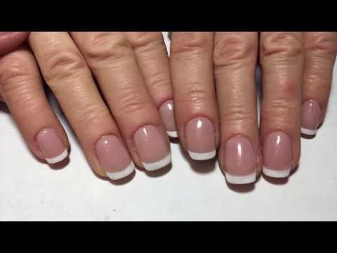 Наращивание ногтей на формах, ч. 1
