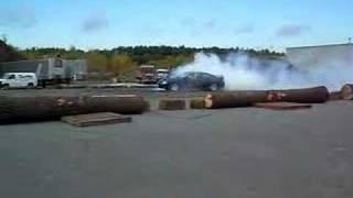 GTO Burnout nice exhaust