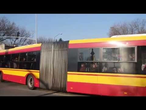 """Wyjazd z pętli """"Metro Wilanowska"""" - Warszawa /20.03.2015/"""