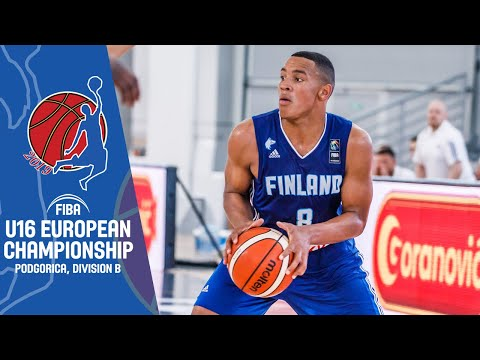 Great Britain v Finland - Full Game - FIBA U16 European Championship Division B 2019
