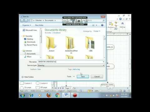 Tutorial membuat diagram erd or semantic dengan aplikasi tutorial membuat diagram erd or semantic dengan aplikasi universitas di mirosoft visio ccuart Choice Image