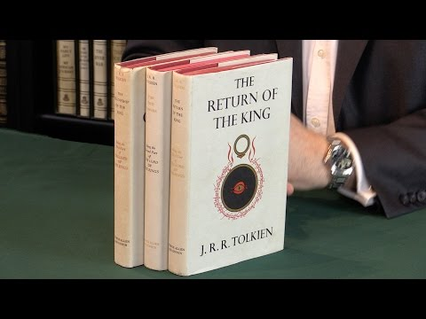 J. R. R. Tolkien. The Complete Lord Of The Rings, First Editions.