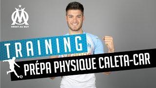 Caleta-Car en pleine préparation physique