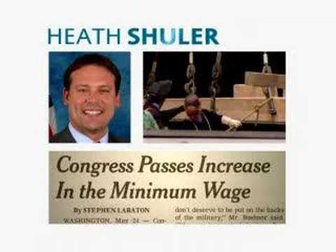 Heath Shuler is off to a good start
