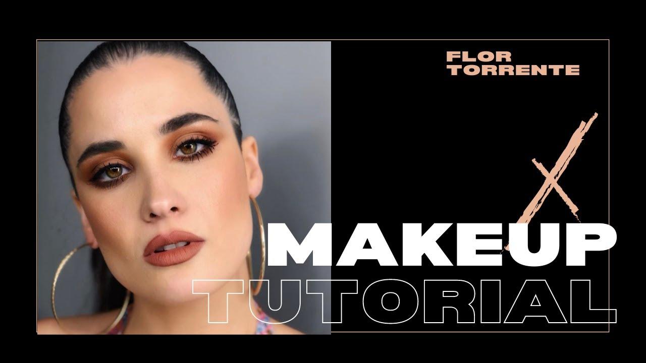 MAKE UP TONOS MARRONES - FLOR TORRENTE