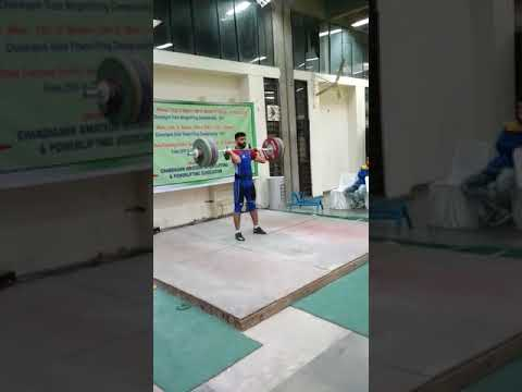 Chandigarh state .. weight lifter.
