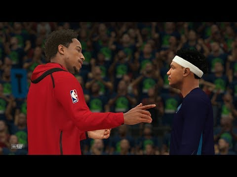NBA 2K18 My Career - Finals Asts Record! NFG1 PS4 Pro 4K Gameplay