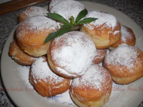 Рецепт берлинских пончиков с начинкой с фото
