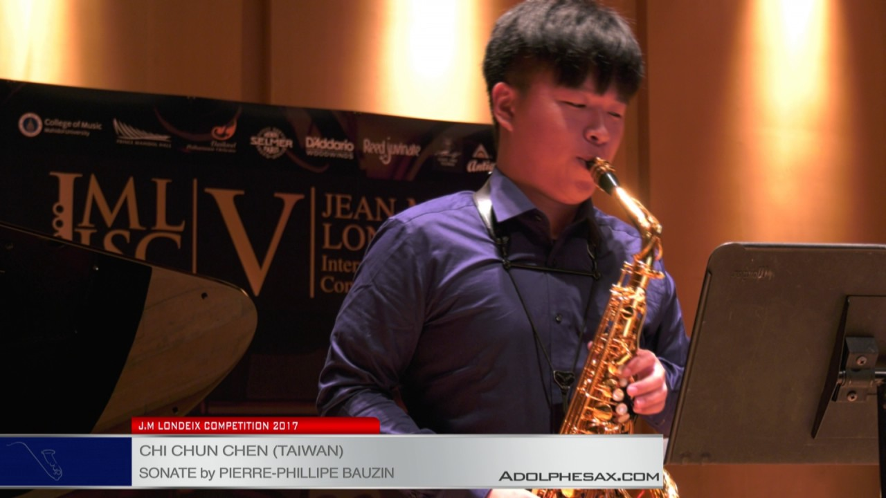 Londeix 2017 – Chi Chun Chen (Taiwan) – Sonate by Pierre Phillipe Bauzin