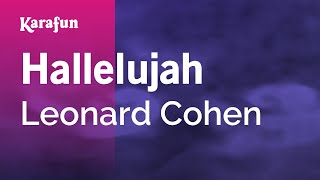 Video Karaoke Hallelujah - Leonard Cohen * download MP3, 3GP, MP4, WEBM, AVI, FLV Agustus 2018