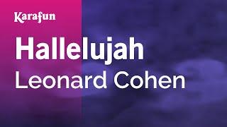 Karaoke Hallelujah - Leonard Cohen *