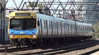 Afternoon peak hour at the Cremorne Railway Bridge - Melbourne Transport thumbnail