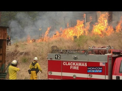 Canyon Creek fire in John Day top priority in Oregon