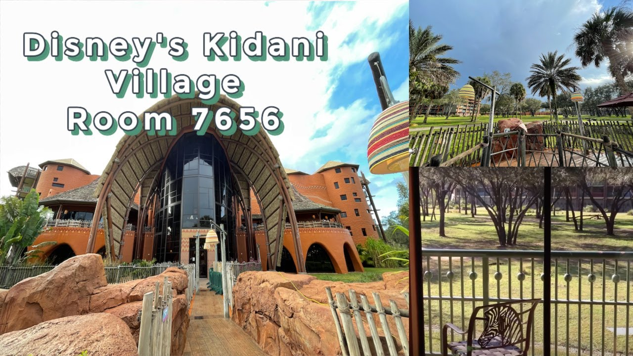 Walt Disney Vacation Club Resort Animal Kingdom Kidani Village Room 7656 One Bedroom Room Villa