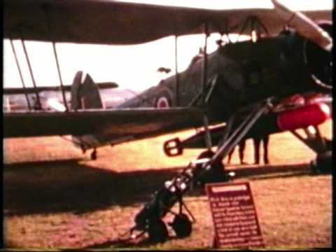 PODINGTON AIR SHOW, RARE FILM TAKEN IN 1960s,