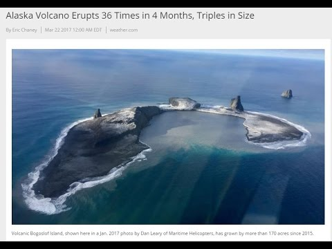 American Volcano grows 36 times in 4 months & triples in size