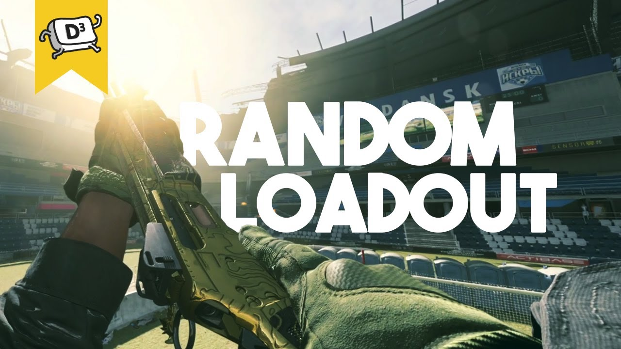 Warzone but our guns are RANDOM... (Modern Warfare Warzone Random Loadout Challenge)