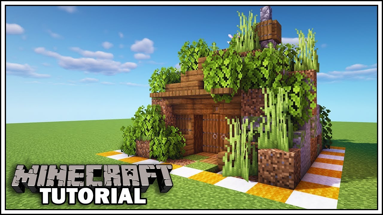 Minecraft 10x10 Cave Base Tutorial [How to Build]