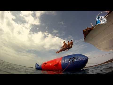 Blob jumps, Shimuni, Croatia