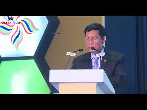 H.E. Mr U Khin Maung Cho, Union Minister of Industry, Myanmar