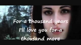 Christina Perri ft. Steve Kazee - A Thousand Years (Part 2) Lyrics