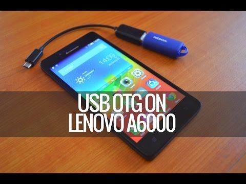 USB OTG Check on Lenovo A6000