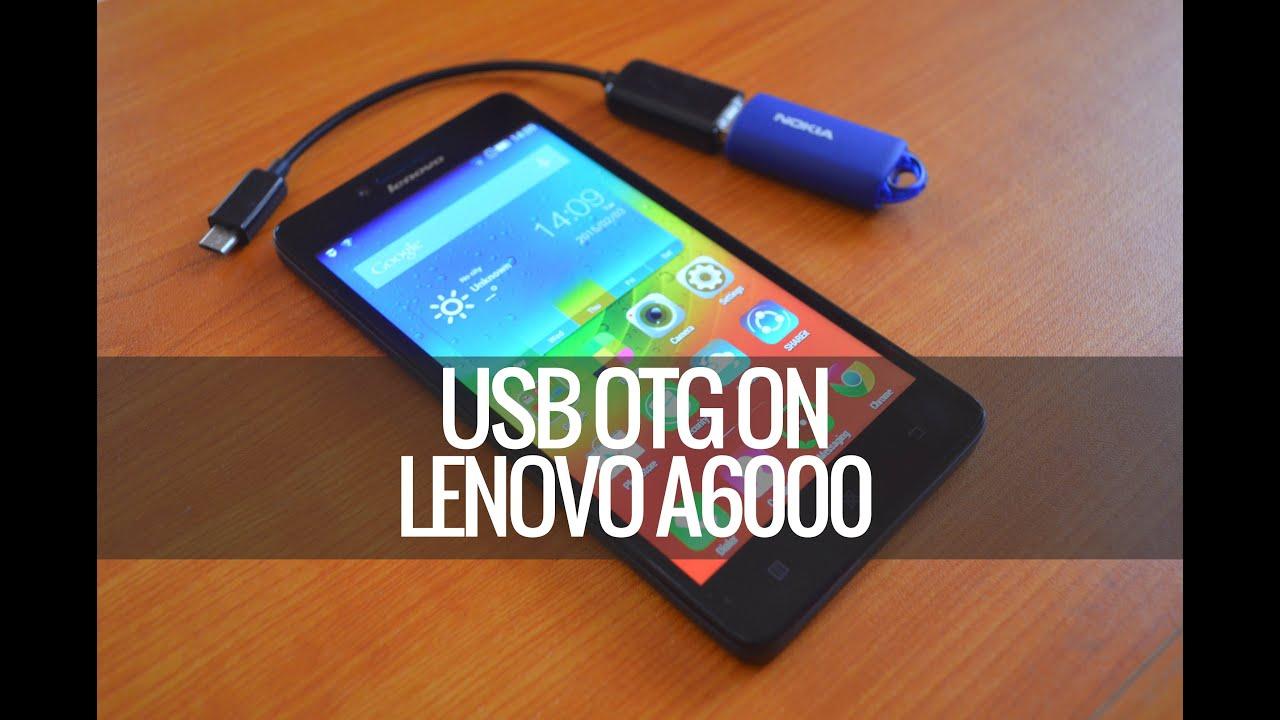 Usb Otg Check On Lenovo A6000 Youtube Flashdisk Hp 8gb V178w