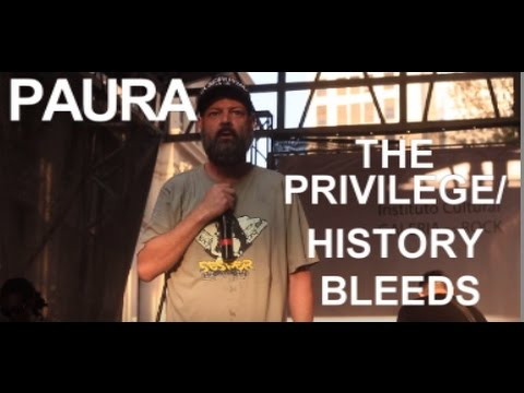 PAURA THE PRIVILEGE / HISTORY BLEEDS (AO VIVO) 23/07/2016 SP Music RUA