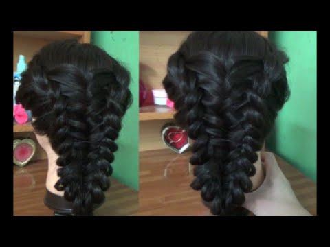 Hairstyles - Kiểu Tóc Cột Thun Đơn Giản Để Đi Chơi Hoặc Dự Tiệc