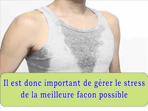 Transpiration excessive aisselles solution