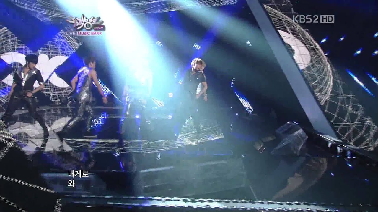 110812 Infinite Be Mine Live Music Bank Youtube