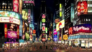 Times Square, New York | Special Night view of Times Square | Times Square Time-lapse video