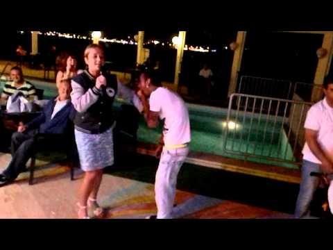 Karaoke night in tuntas hotel 2012