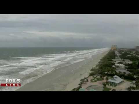 Hurricane Matthew: Daytona Beach, Fla on Thursday