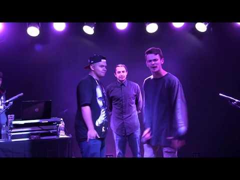 Young Nez (16 Years old) Vs Josh Matter (17 Years Old) - AHAT Utah - Rap Battle