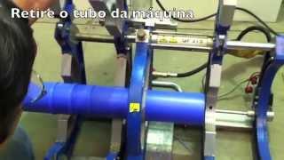 Máquina de Solda de Termofusão GF-315 CNC da GF Piping Syste…