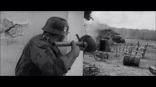 """Отрывок из фильма """"На войне как на войне""""."""