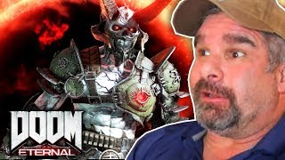 Dad Reacts to Doom Eternal - Official Gameplay Trailer!