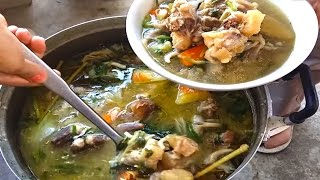 Top Hot Beef Soup Cooking In My Village - Top Cambodian Traditional Food