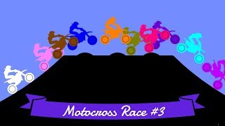 Motocross Race #3: Elimination - 32 colors | Bouncy Marble