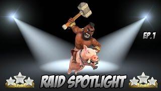 Clash Of Clans - Raid Analysis EP. 1 (HOG RIDERS)!!