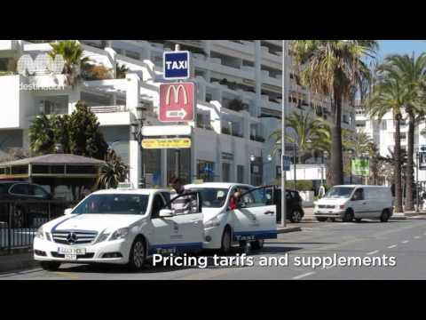 A guide to using taxis in Marbella